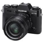 Fujifilm X-T10 Mirrorless Camera - Black