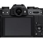 Rear View - Fujifilm X-T10 - Black