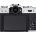 Rear View - Fujifilm X-T10 - Silver
