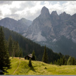 Hiking in the Dolomites Print