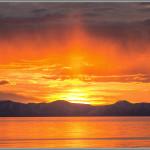 Antelope Island Sunset Print