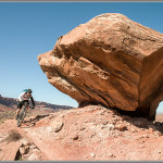 Moab Mountain Biking Print