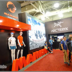 Arcteryx and Mammut Booths - OR Show
