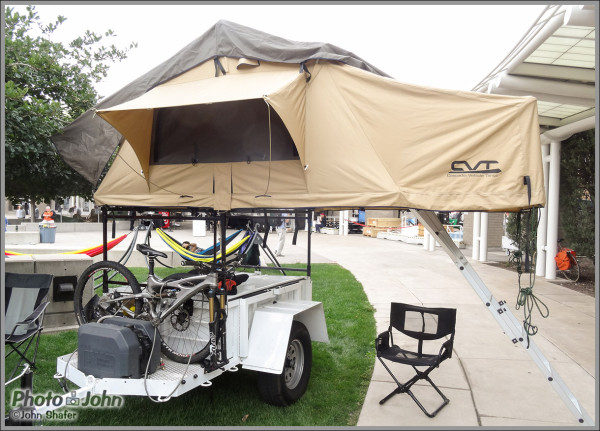 Pak-All Trailer & CVT Cascadia Roof Top Tent