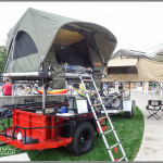 Pak-All Trailer With Premium Cascadia Tent