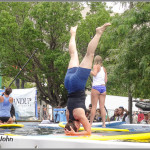 Paddleboard Yoga Demo Pool
