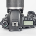 Canon EOS 7D DSLR Camera - Top View