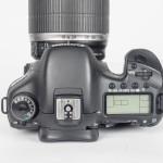 Canon EOS 7D DSLR Camera - Top View