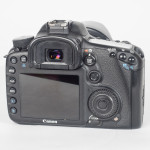 Canon EOS 7D DSLR Camera - Rear View