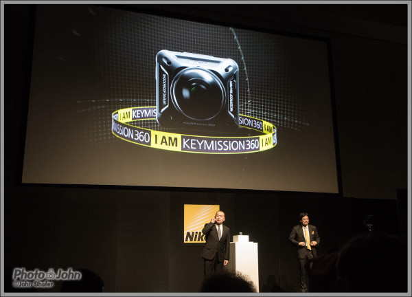 Nikon KeyMission 360 POV Camera Press Conference