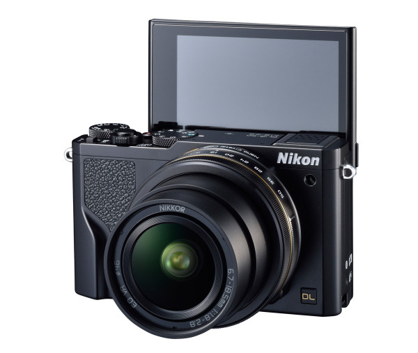 Nikon DL18-50 Premium Compact Camera - Selfie-Friendly LCD