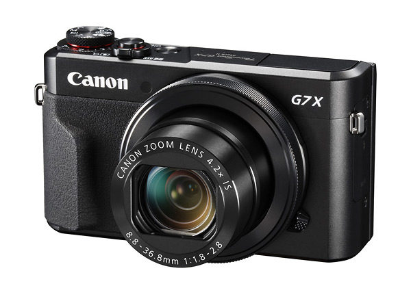 Canon PowerShot G7 X Mark II Premium Point-and-Shoot Camera