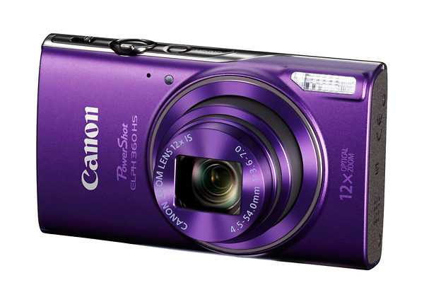 Canon PowerShot ELPH 360 HS Point-and-Shoot Camera