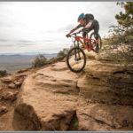 Mountain Biker on Gooseberry Mesa - Best Photos of 2016