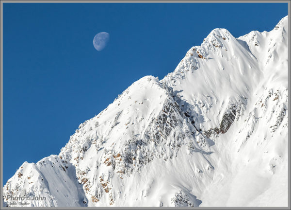 Moon Over Mount Superior - Best Photos of 2016
