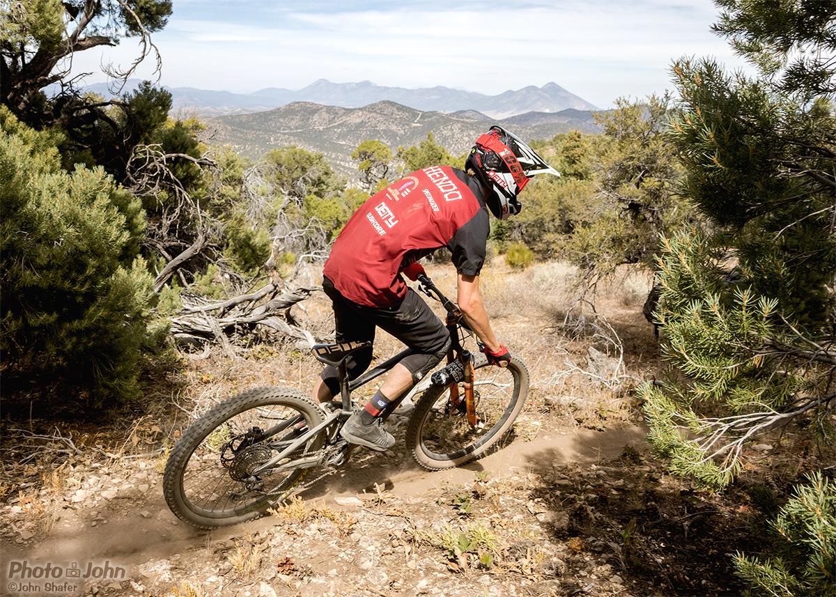 Powderberry Trail, near Ely Nevada.