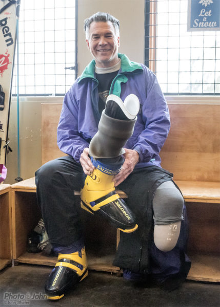 Greg Hansen & His FitProsthetics Leg
