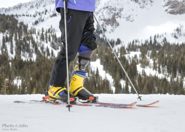 FitProsthetics Leg in a Ski Boot
