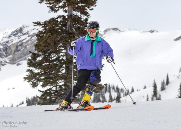 Greg Hansen - Awesome Adaptive Ski Technique