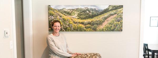 Happy Panoramic Print Owner
