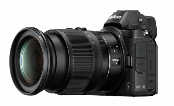 Nikon Z7 Mirrorless Camera with 24-70mm f/4 Zoom Lens