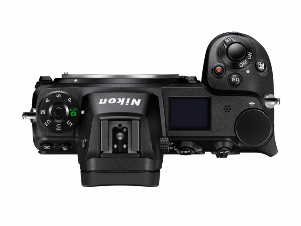 Nikon Z7 Full-Frame Mirrorless Camera - Top View