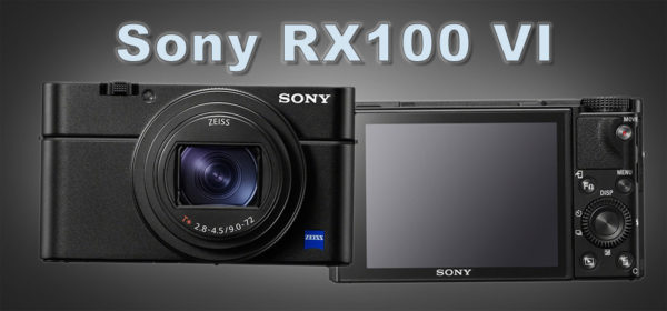 Sony RX100 VI - Pro Pocket Camera